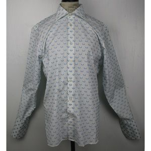Ted Baker Greenpa White Shirt Size 4 (US 40)